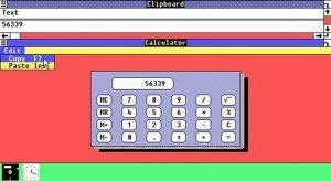 Calculatorul din Windows 1.1