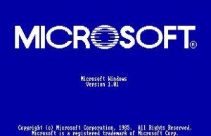 Bine ai venit la Windows 1.0!