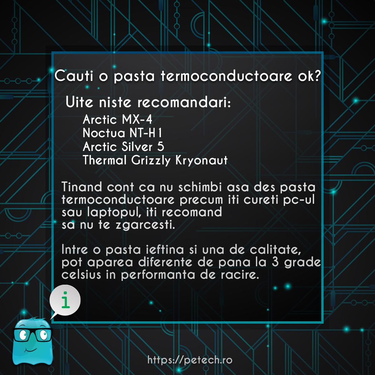 pasta termoconductoare