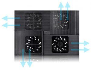cooler laptop ventilatoare
