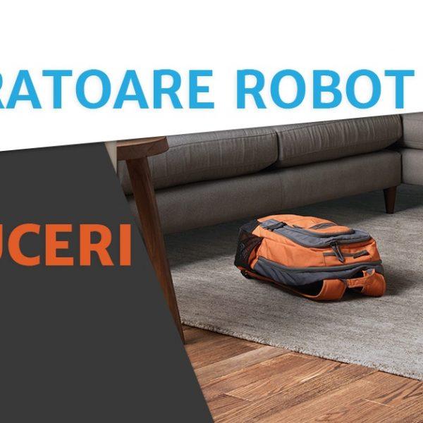 Reduceri la aspiratoarele robot