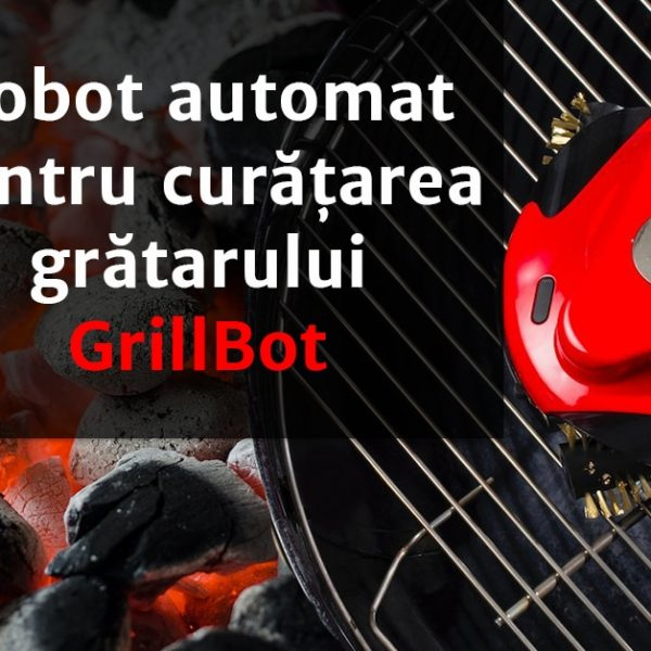 Robot automat pentru curatarea gratarului – Grillbot