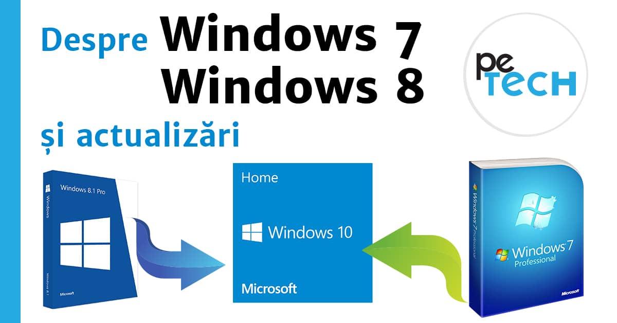 windows 7 actualizari