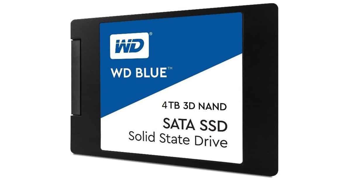 SSD 4TB Western Digital Blue 3D